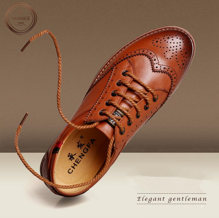 2016 New British Style Mens Fashion Carved Design Brogue Shoes,High Quality Men Genuine Leather Oxford Shoes,Brand Flat Shoes.<br><br>Aliexpress