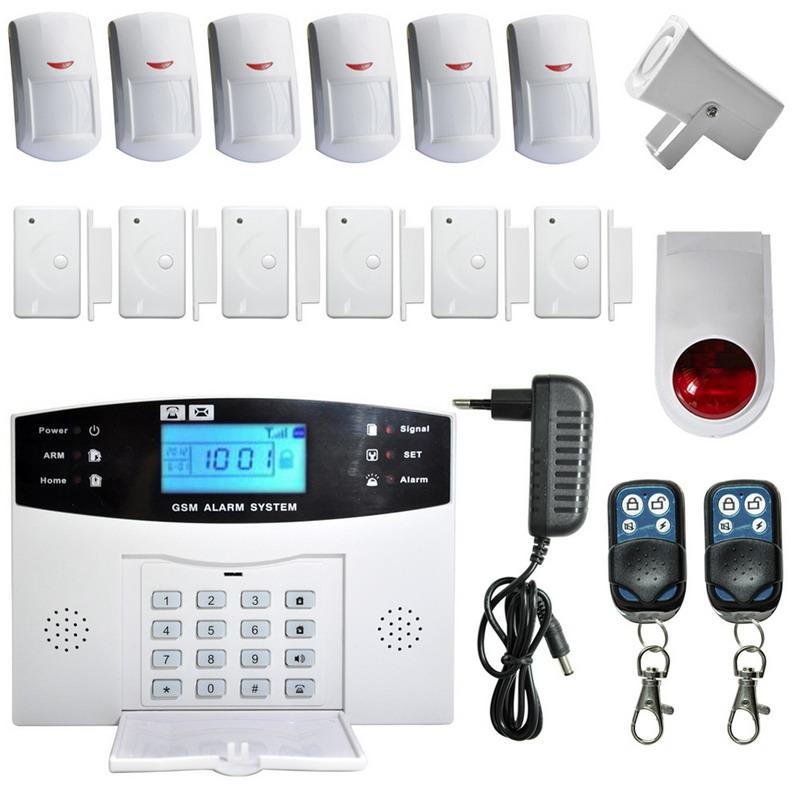 Гаджет  R1B1 GSM Autodial SMS Home House Office Security Burglar Intruder Alarm  None Безопасность и защита
