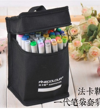 60 colors common design Sketch Art Marker Twin Broad Fine Point copic marker for cartoon interior design(China (Mainland))