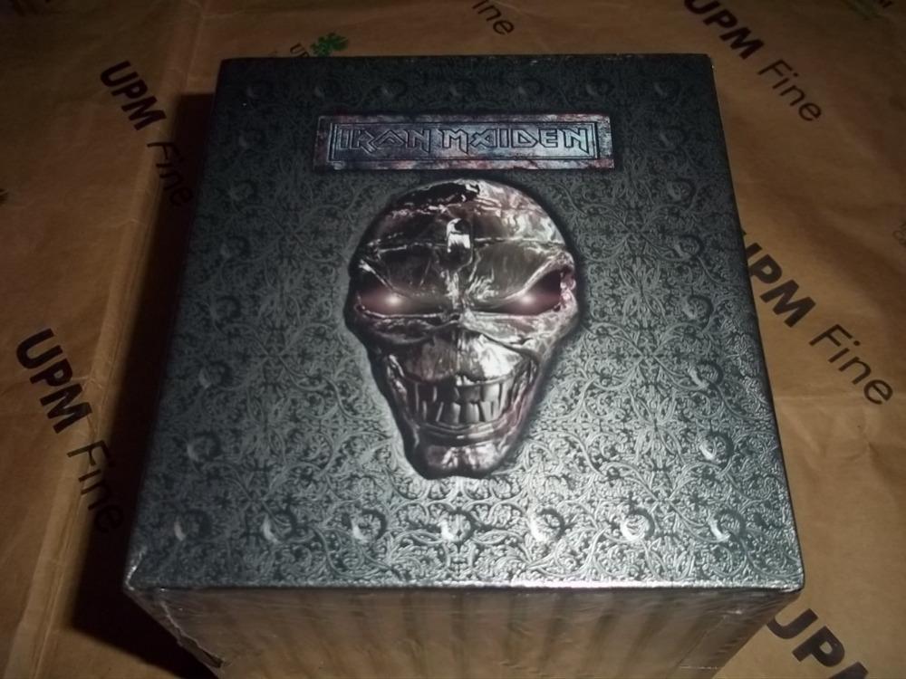 Новый ~ iron maiden полный 12 альбомов 15 cd полный box set заводская герметизация тяжелый металл cd