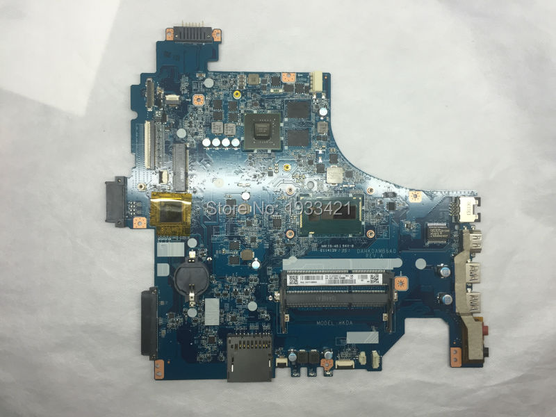 Laptop motherboard DAHKDAMB6A0 FOR SONY Vaio SVF153 Motherboard SN: A2011590A with SR16Z I7-4500 Non-Integrated 100% Work(China (Mainland))