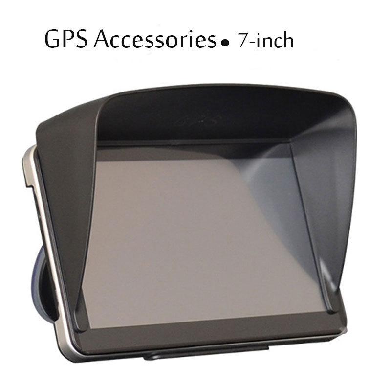 Black 7 inch Navigation Car GPS Sunshade Gps Accessories parts Sun Shield Gps sunshine Umbrella navigator(China (Mainland))