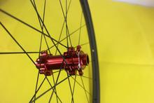 "Buy 29er cross-country mountain bike carbon fiber front wheel 30mm width 25mm depth hookless clincher M15 15mm thru 29"" 29in MTB XC for $211.84 in AliExpress store"