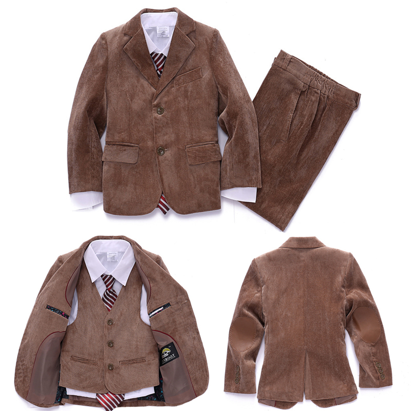 Boys Brown Jacket
