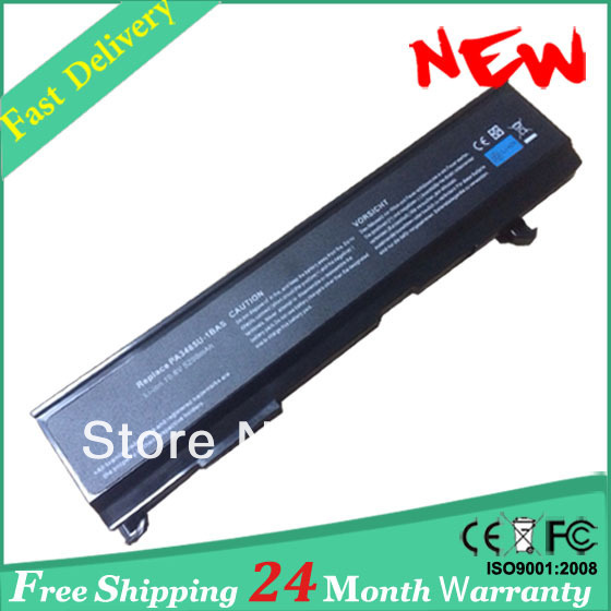 Laptop battery PA3465U-1BRS for TOSHIBA Satellite A80, A85, A100, A105, A110, A130, A135, M45, M50 M55 M70 M105 M115(China (Mainland))