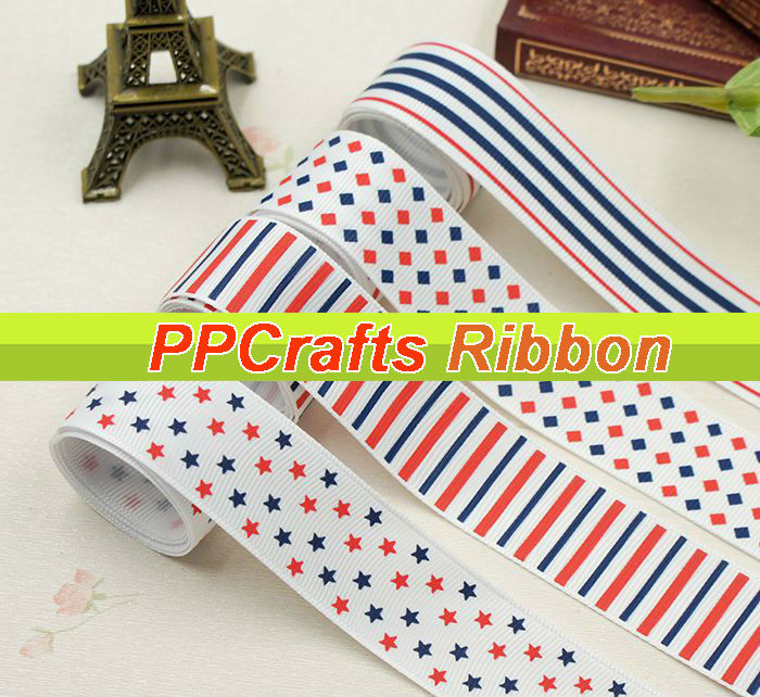 Flag Fashion Navy/Red/White Style  Printed 1