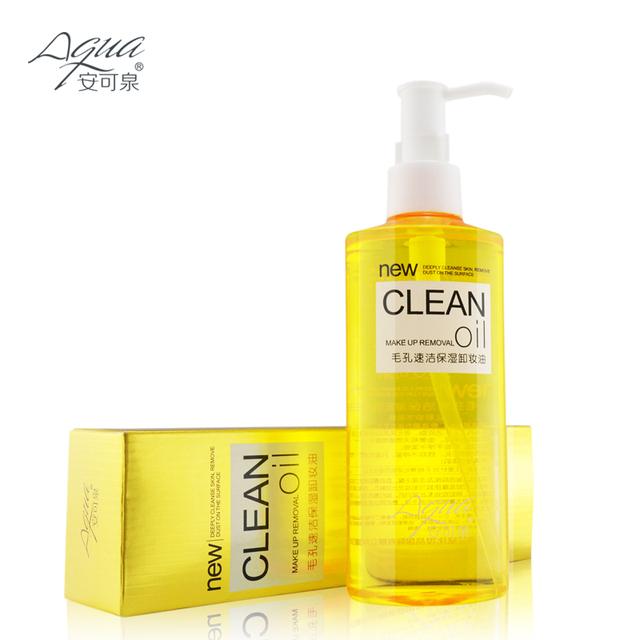 Для снятия глубоко очищающее масло очищение лица удаления масла для глаз и губ уход ...