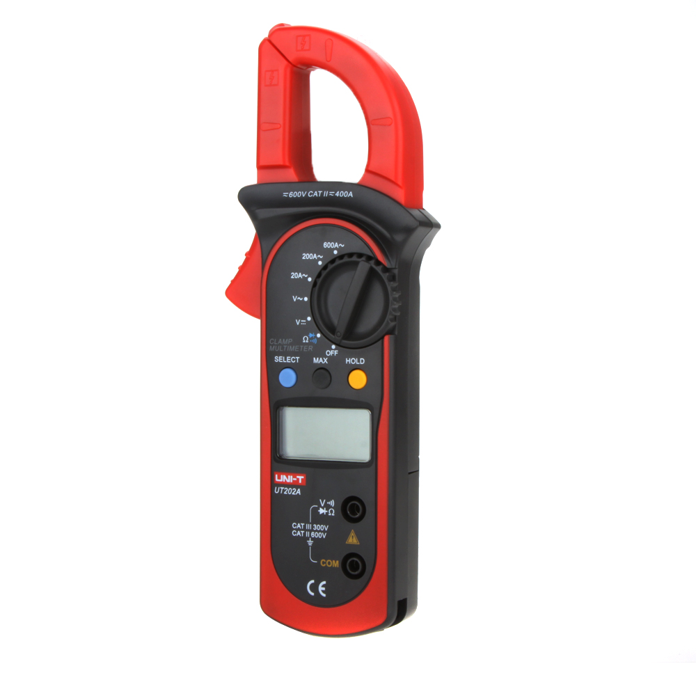 Токоизмерительные клещи UNI-T UNI/t UT202A /& 600A DC/AC мультиметр uni t uni t ut71b alicate amperimetro ac dc