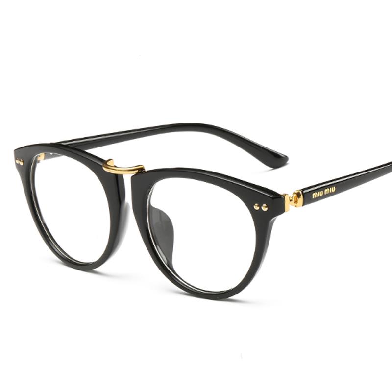 NEW-flat-top-women-designer-eyeglasses-optical-high ...