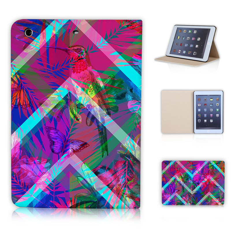 Amazing Quality for ipad mini 1 2 3 Retina Case Bird Butterfly Landscape BTD Dazzle Color P004-ip-mini Magnetic Coverweith stand(China (Mainland))