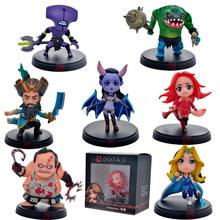 7pcs/Set Dota 2 Action Game Figure SLARK TINY Doom Boxed PVC Action Figures Collection dota2 Toys/juguetes