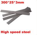 300x25x3mm HRC 60 High speed HSS steel Knife blade DIY