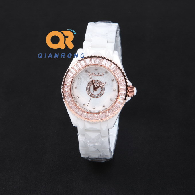 women watches luxury charms ladies style golden watch Enamel ceramic watch white band stainless steel tag watch free shipping<br><br>Aliexpress
