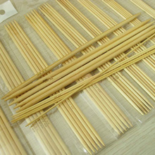 Buy Economic 11 Sizes Double Pointed Knitting Bamboo Needles, Weaving Needles Hand Crafts Tools Supplies Accessories for $2.30 in AliExpress store