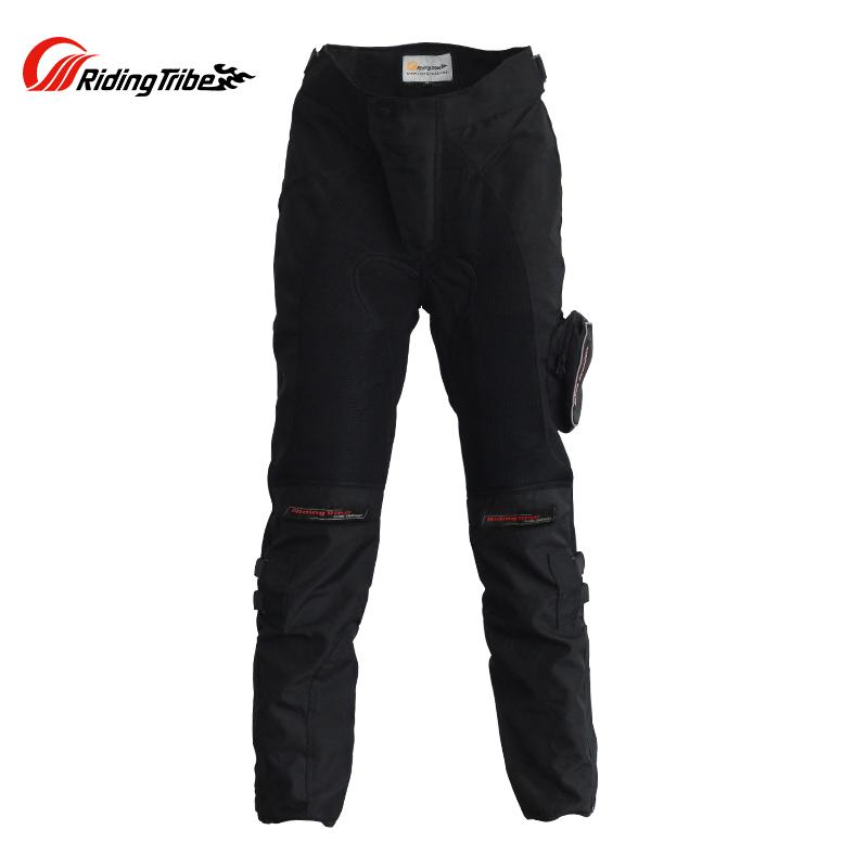 Фотография Riding Tribe  Off-Road Racing Pants Windproof Motorbike Pantalon Moto Motorcycle Trousers with Knee Pads Motocross Pants Men