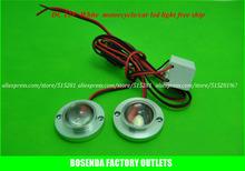 High power DC12V waterproof Flexible 2pcs white led strobe light for car warning motorcycle car flashlights free shipping(China (Mainland))