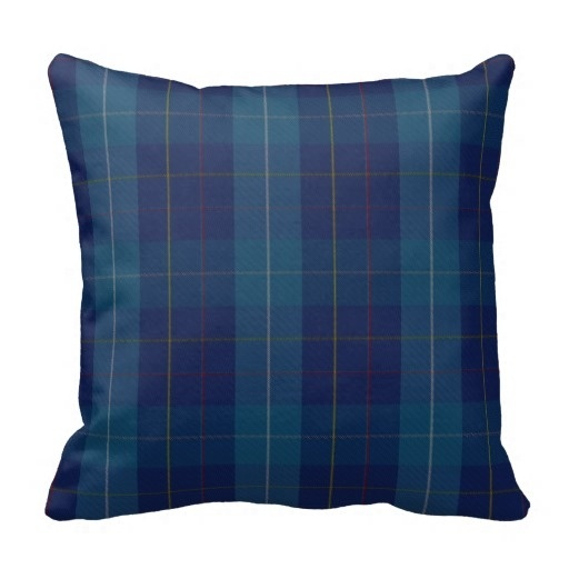 Lazy Traditional Mackerrell Clan font b Tartan b font Plaid Pillow Case Size 20 by 20