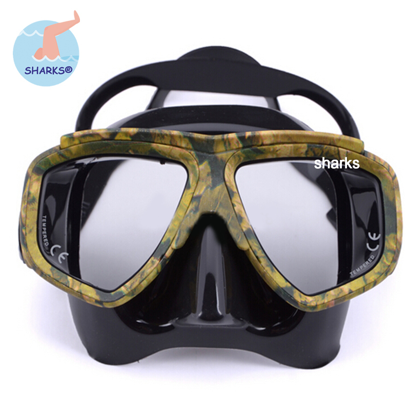 2015 Professional diving Mask for spearfishing scuba gear swimming mask oculos de mergulho gafas buceo(China (Mainland))