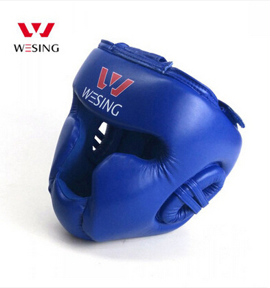 Free shipping Boxing head guard fully enclosed boxing headguard super-fibre leather 1004A1(China (Mainland))