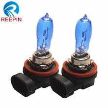 Buy 2pcs Xenon H11 12V 100W pgj19-2 super white car external lights fog lights bulb HOD HXB lamp 6000k quartz glass CP029 for $9.79 in AliExpress store