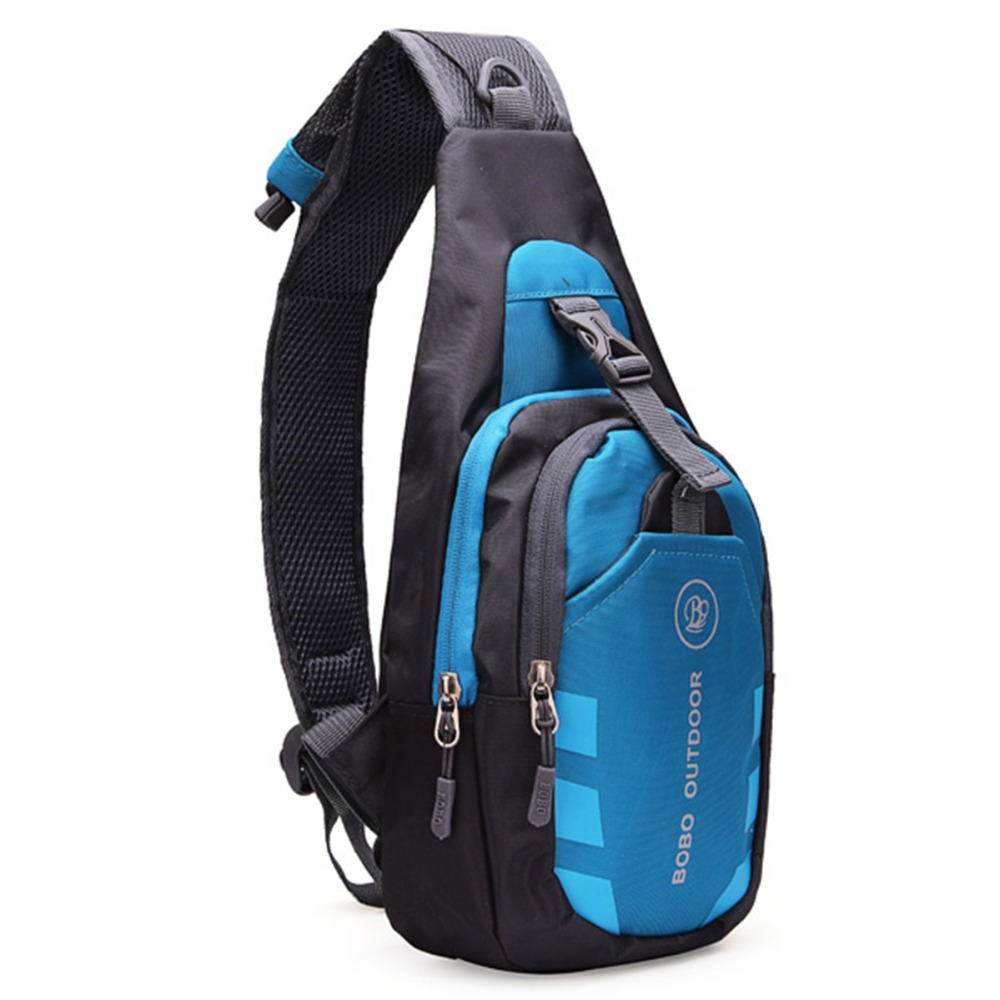 2015 Fashion Men Women Chest Bags Nylon Diagonal Package Messenger Shoulder Waterproof Sport Casual Running Outdoor