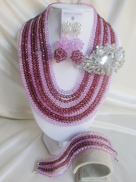 2015 new Fashion african beads Jewelry set crystal beads necklace set nigerian wedding african jewelry set free shipping WI-2739<br><br>Aliexpress