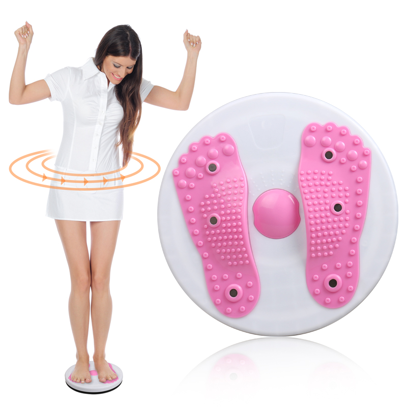 magnet waist wringgling plate fitness twist disk Large twister device foot massager machine slimming women's home sports tool(China (Mainland))