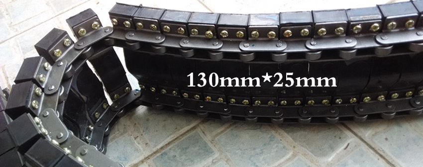 Manufacturers 160 180 cable traction conveyor accessories rubber track drive chain(China (Mainland))