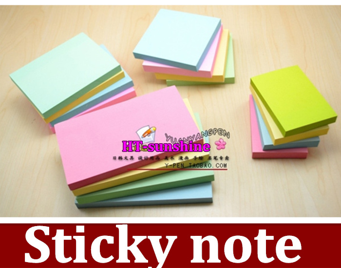 102*76mm 5pcs/lot High Quality N times posted Sticky note ,a message | |chronicle | notes ,(China (Mainland))