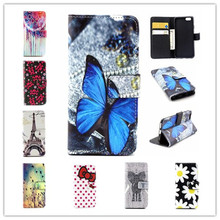 2015 new Luxury Leather Case for iPhone 6s Wallet Style Flip Cover Stand Mobile Phone Bag Case for iPhone 6S
