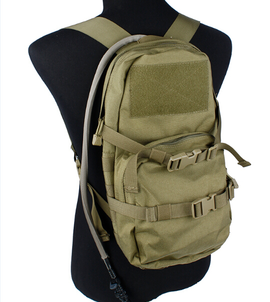 Assault Pack Rucksack Tactical Combat Molle Hydration Backpack army Bag
