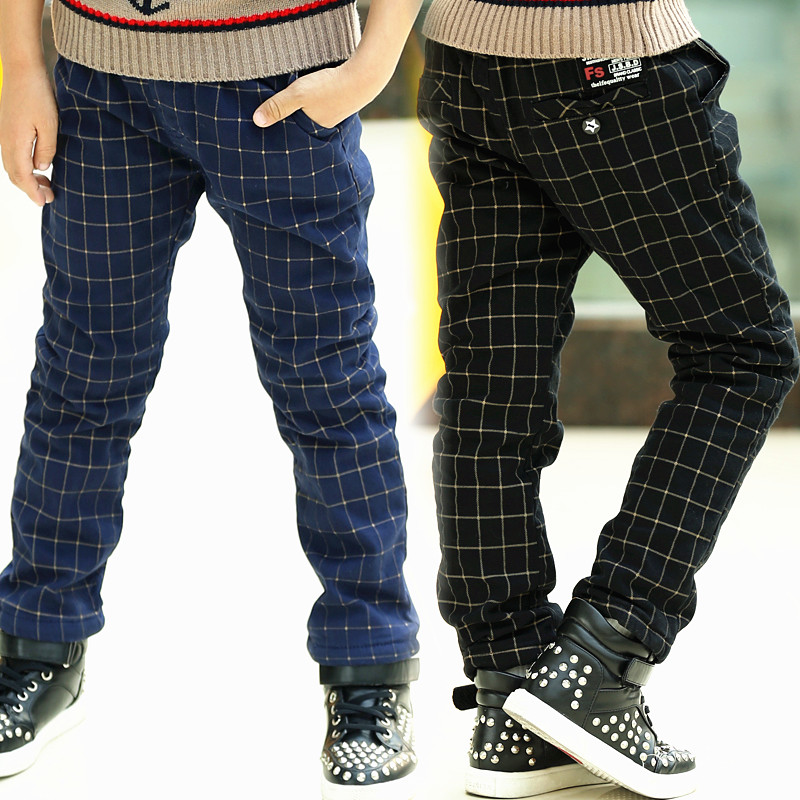 plaid boys pants - Pi Pants
