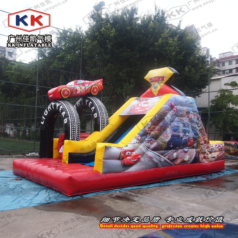 Outdoor Toys For 1 : New design inflatable car slip slide for kids