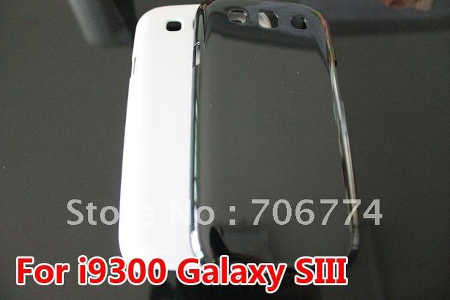 Black Clear Ultra Thin Slim Hard Skin Case Cover For Samsung Galaxy S3 III  i9300