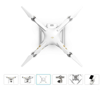 DJI Phantom 3 Professional Drone Ready to Fly with 4K Full HD wifi camera & Brushless Gimble,GPS system, live HD view instock