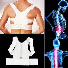 Best Deal Men Women Magnetic Posture Support Corrector Back Belt Band Pain Feel Young Belt Brace Shoulder for Sport Safety 1pc(China (Mainland))