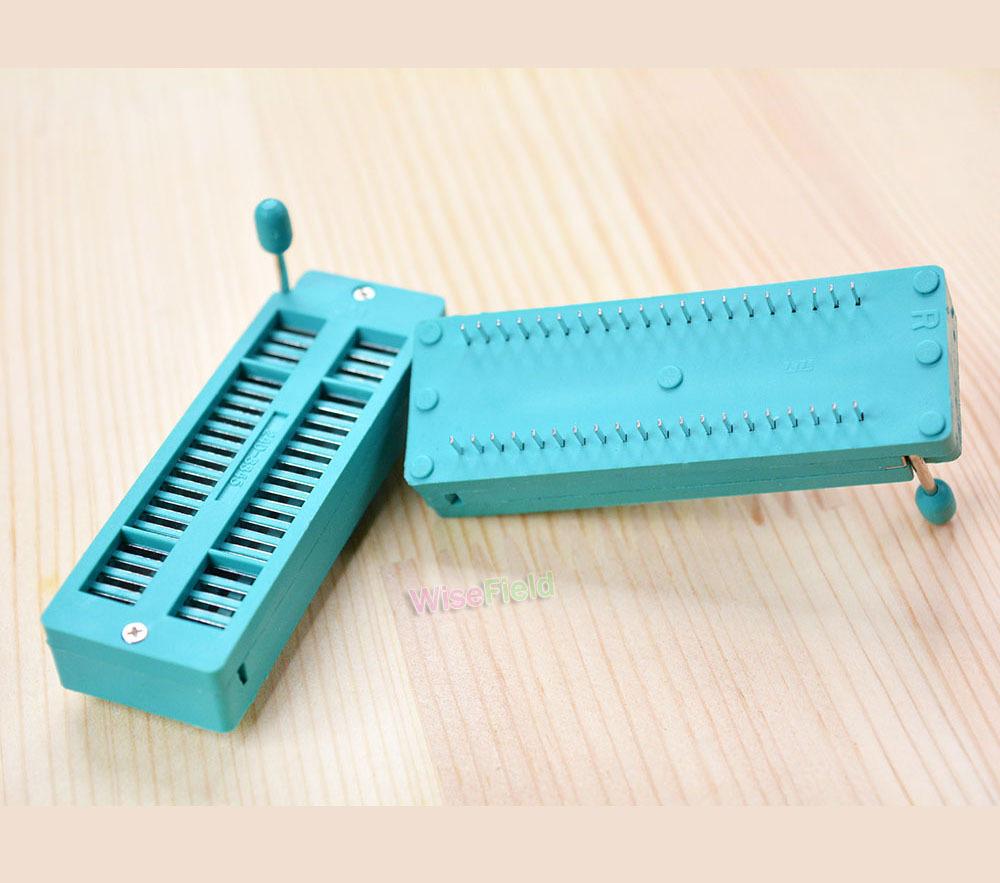 Test Tester 40P 40Pin ZIF ZIP DIP IC Board Socket New Universal(China (Mainland))