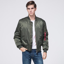 Freelee 2017 High Quality Ma1 Winter Army Green Military red varsity Ma-1 Flight Jacket Pilot Air Force Men Bomber Jacket Women(China (Mainland))