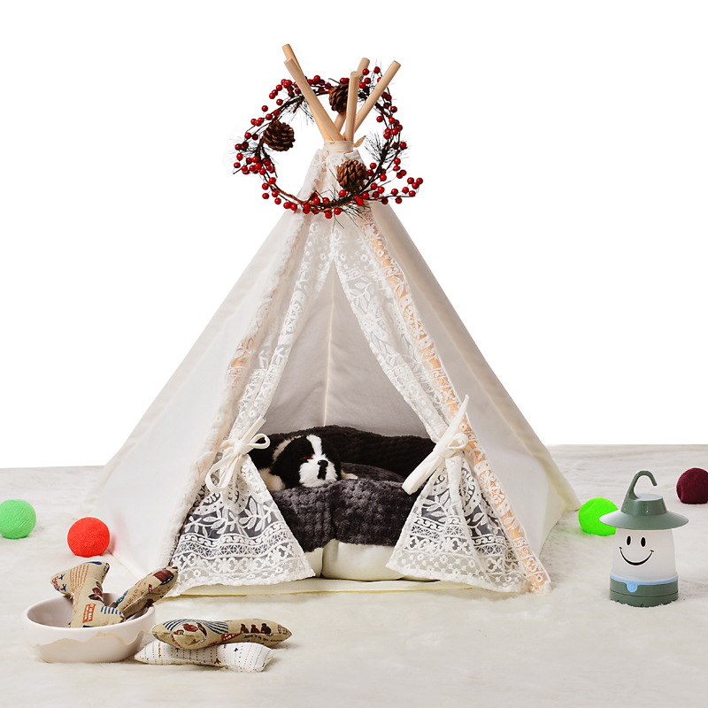 Teepee tent promotion shop for promotional teepee tent on - Tipi para perros ...