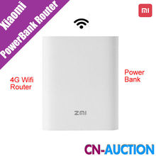 Original New  Xiaomi Zmi MF855 7800MAH  mifi3G 4G  Querysystem 4G Wireless Wifi Router Mobile Power Bank 3.6V/7800mAh Micro USB(China (Mainland))