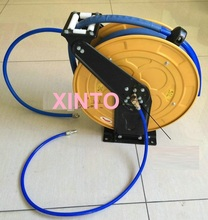 10M Automotive high pressure water and air hose reel, Automatic retractable reel(China (Mainland))