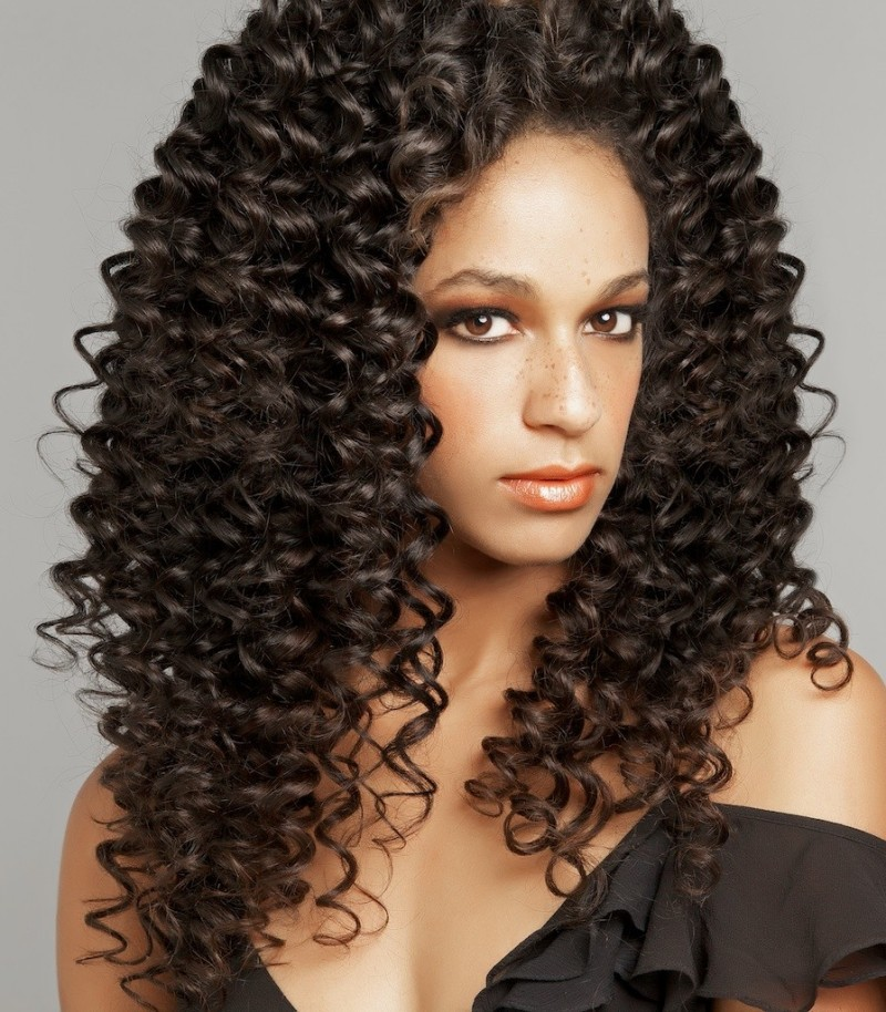 ... Glueless Brazilian Human Hair Lace Front Curly Wigs For Black Women