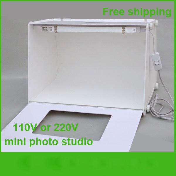 professional mini photo studio photography light box photo. Black Bedroom Furniture Sets. Home Design Ideas