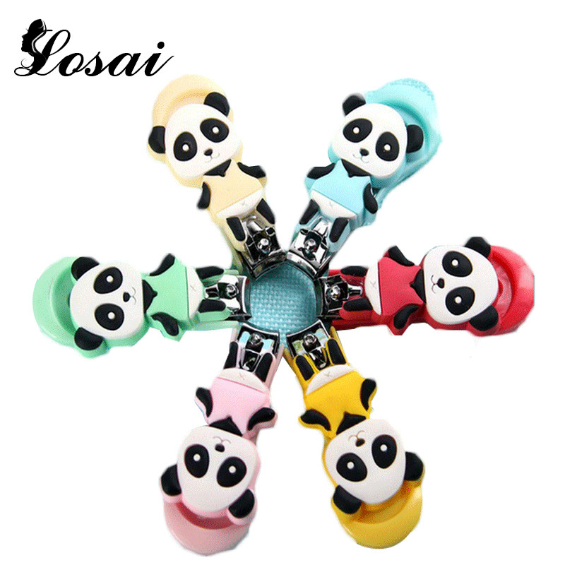 Cute Cartoon Nail Clipper Trimmer 2016 New Design My Bottle Nail Cutter Monkey Panda Mushroom Deer Cow Shipping At Random(China (Mainland))