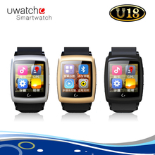 "Original Android Uwatch U18 Smart Watch with Bluetooth 4.0 Dual Core 1.54"" Screen GPS WiFi Waterproof Compass Sleep Monitoring"