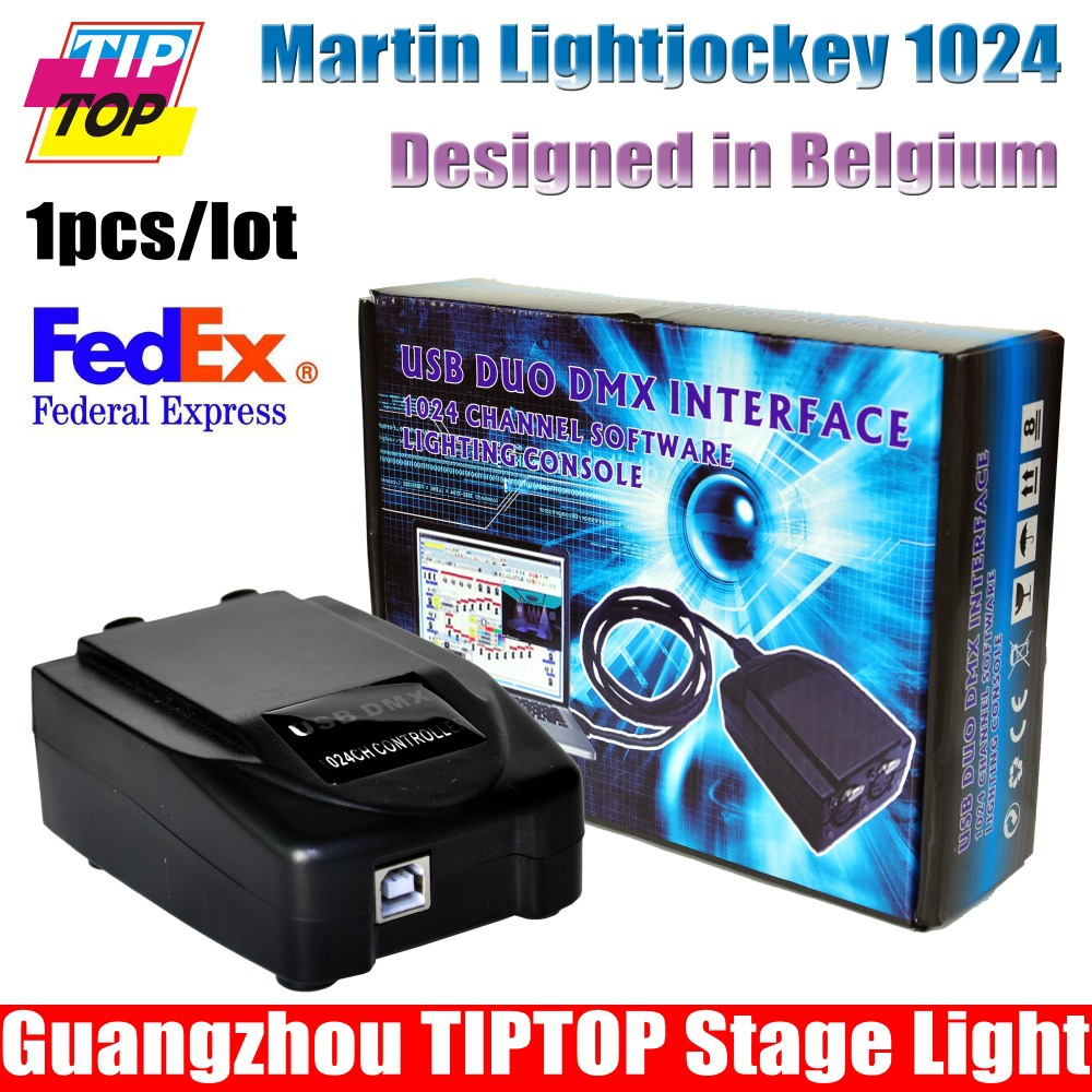 Freeshipping Martin Light jockey USB 1024 DMX 512 DJ Controller,Martin lightjockey 1024 USB DMX Controller led stage lighting(China (Mainland))