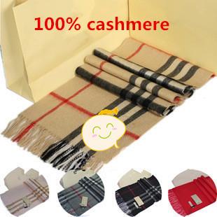 Gift Top 100% Cashmere Unisex Winter Scarf Women 2015 Brand Big Size Plaid Scarves Men Pashmina Infinity Scarf Women Thick Shawl(China (Mainland))