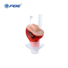 feie deaf products  newest cic mini hearing aid china price deafness headsets S-10B right ear free shipping(China (Mainland))