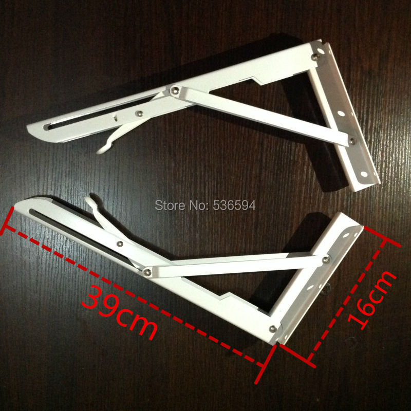 Foldable table support and a triangle bracket Rv folding table mount wall table folding bracket Goods rack A-frame 39cm long(China (Mainland))