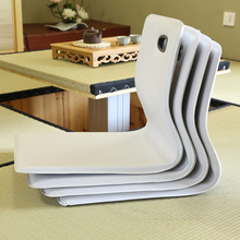 (4pcs/lot) Floor Seating Furniture Zaisu Chair White Leather  Asian Traditional Living Room Japanese Tatami Legless Chair Design(China (Mainland))